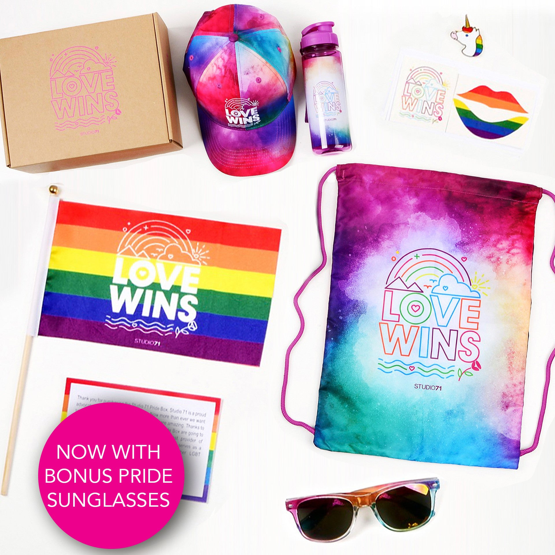 S71 Pride Box (with BONUS sunglasses)