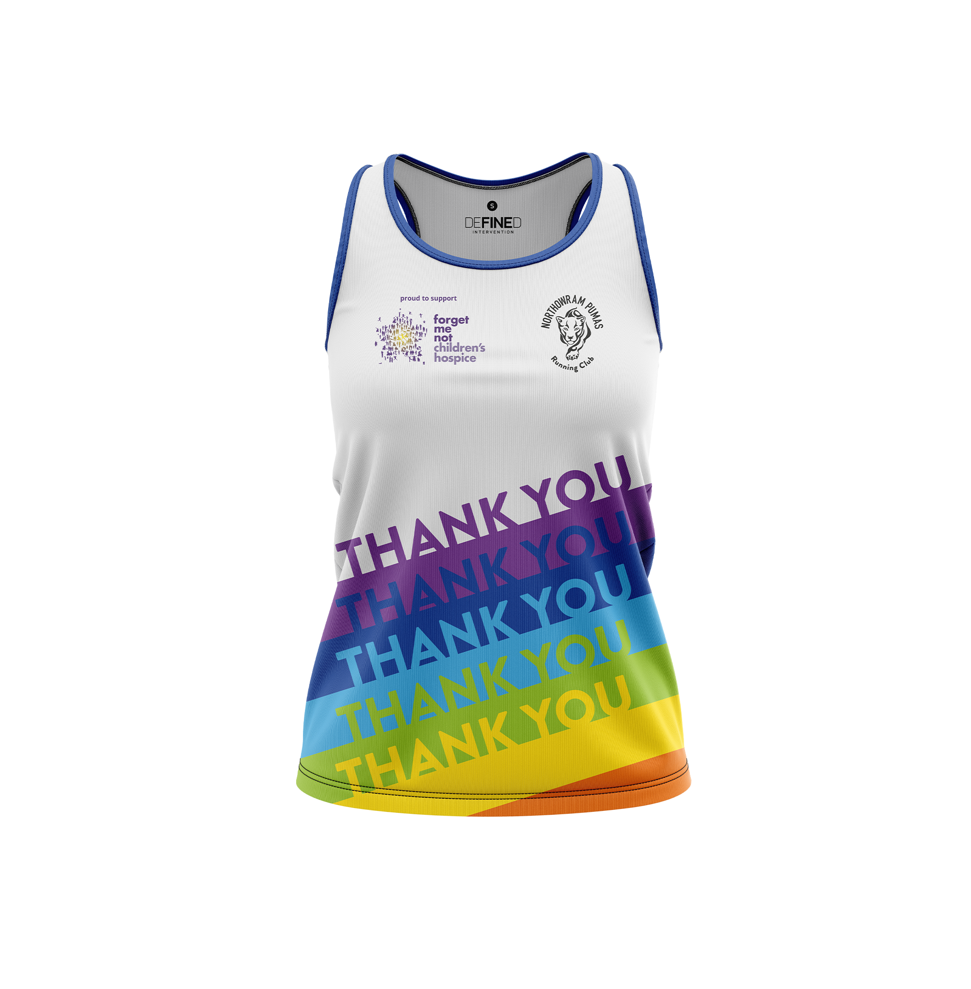 Northowram Pumas Women's Charity Vest