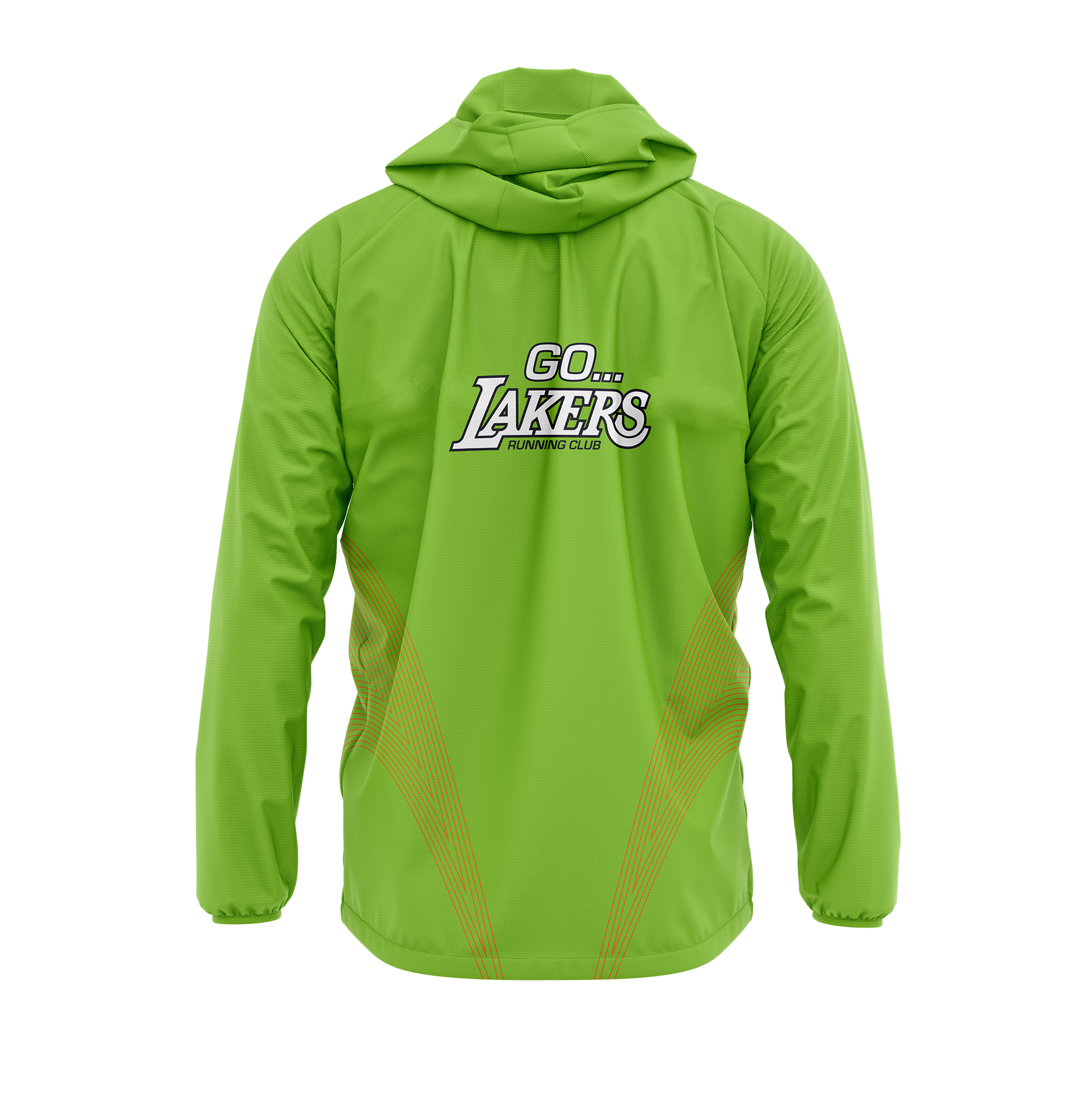 Lakers Custom Running Jacket