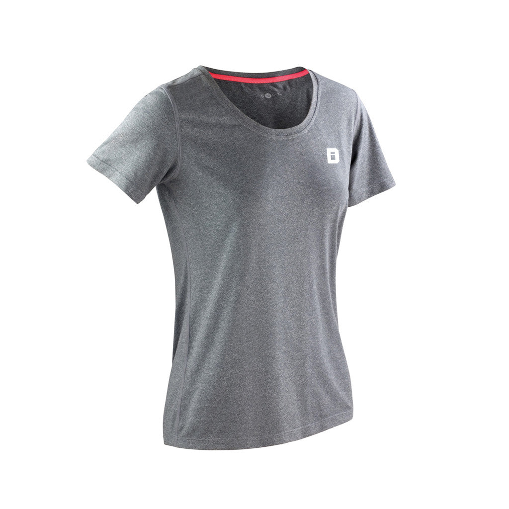 Defined Performance Tee - Light Grey