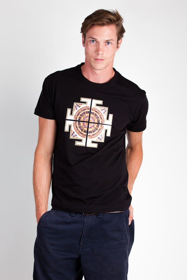 T-Shirt-Tibetan Cross