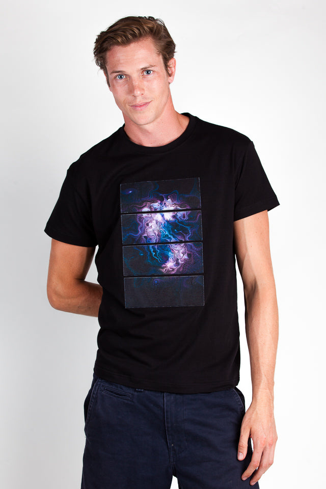 T-Shirt-Purple Cosmos
