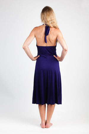Halter Dress- Bamboo