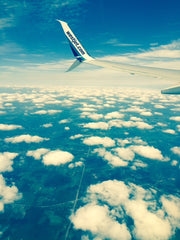 Flying to Toronto #WestJet