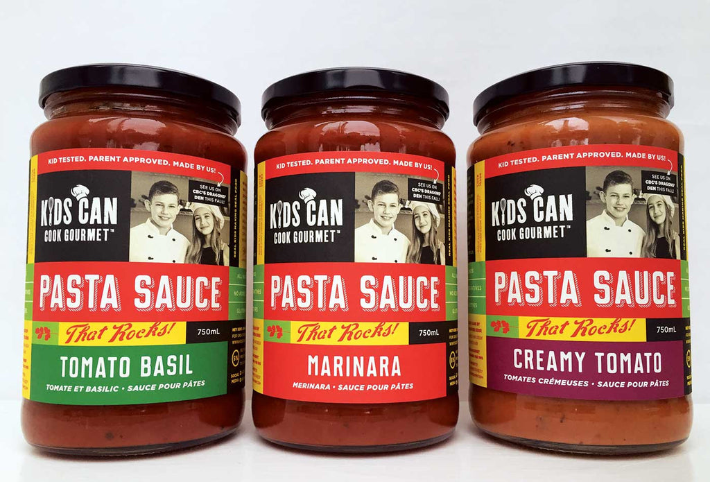 Pasta Sauce That Rocks<br><b>Try All Three! - Buy Now</b>