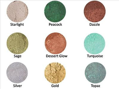 Mineral Eye Shadows - Sparkle Collection