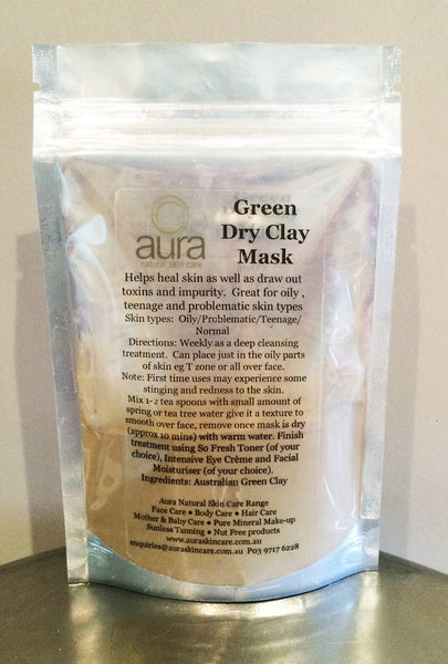 Green Clay Dry Mask