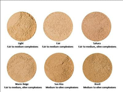 Mineral Powder Foundations and Refill option