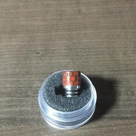 510 resin Drip Tip Double O-ring