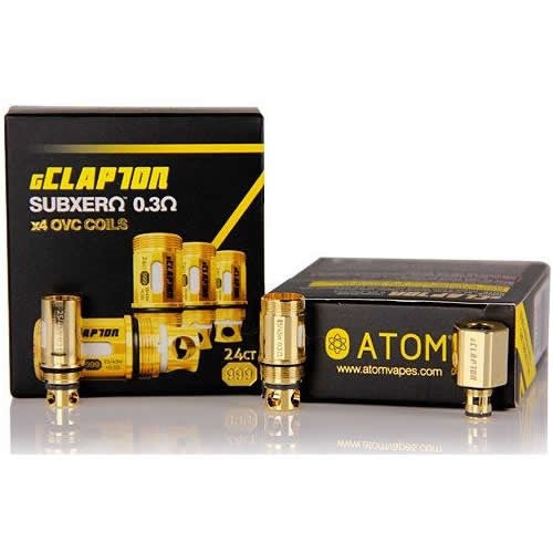 gClapton OVC Coils 0.3ohm 24ct Gold for Arctic Tanks