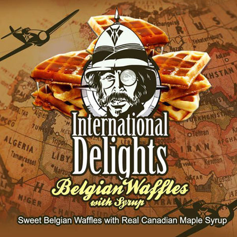 Belgian waffles with syrup - International Delights - Vango