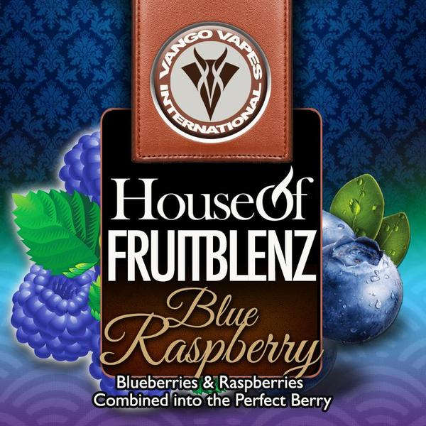 Blue raspberry - House Of Fruit Blenz Salts