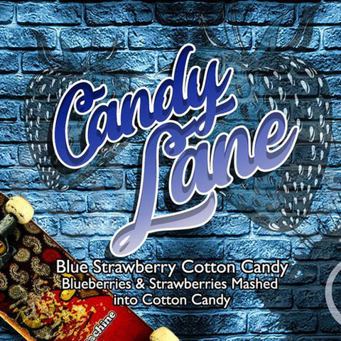 Blue Strawberry Cotton Candy - CandyLane - Vango