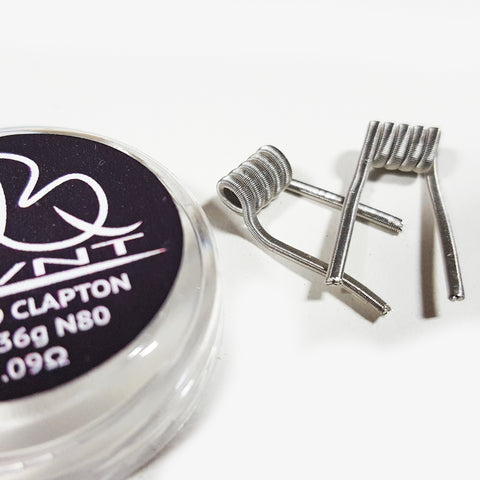 N80 Fused Clapton Coils - Set of 2