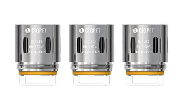 IJOY Cigpet ECO-T12 coil 0.12ohm (3 / pack)