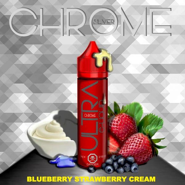 Ultra Chrome Silver - Blueberry Strawberry Cream