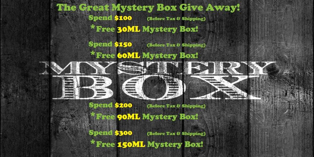 Mystery Box Give Away