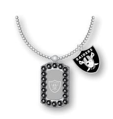 Oakland Raiders NFL Necklace