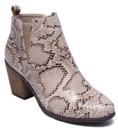 Snake Skin Bootie/Boot