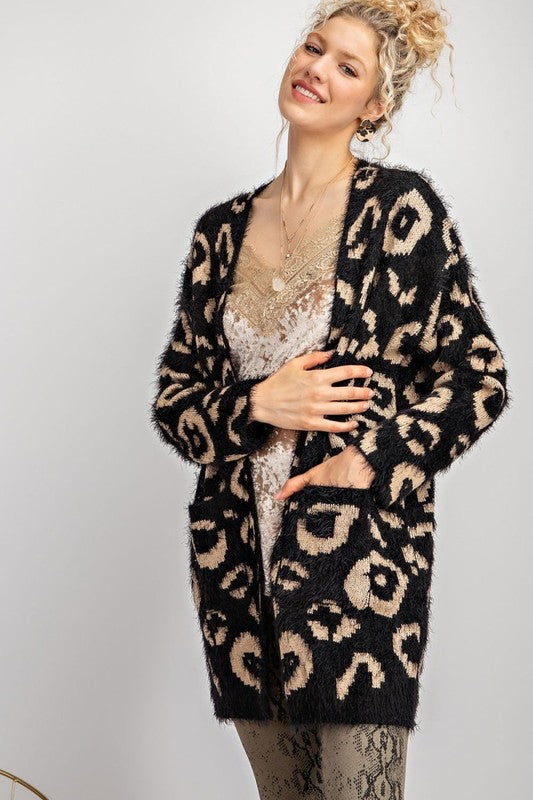 Mohair Leopard Sweater