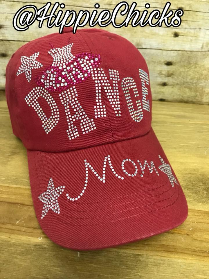 Bling Dance Mom hat