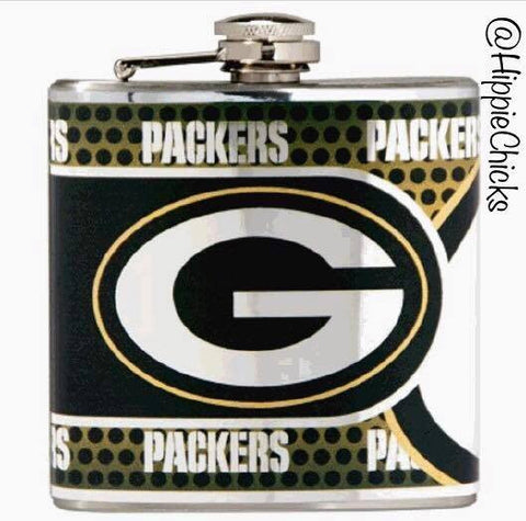 Greenbay Packer Flask