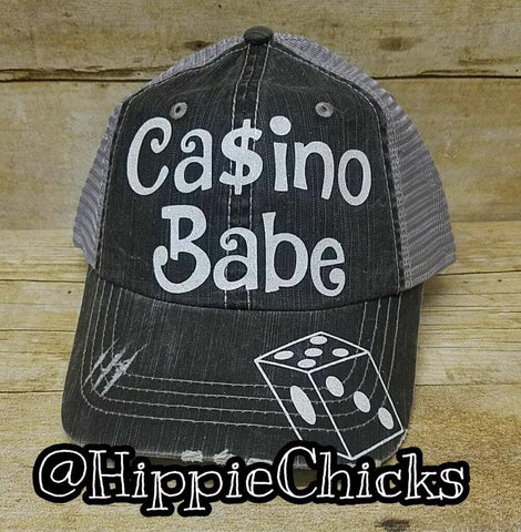 Casino Babe Hat
