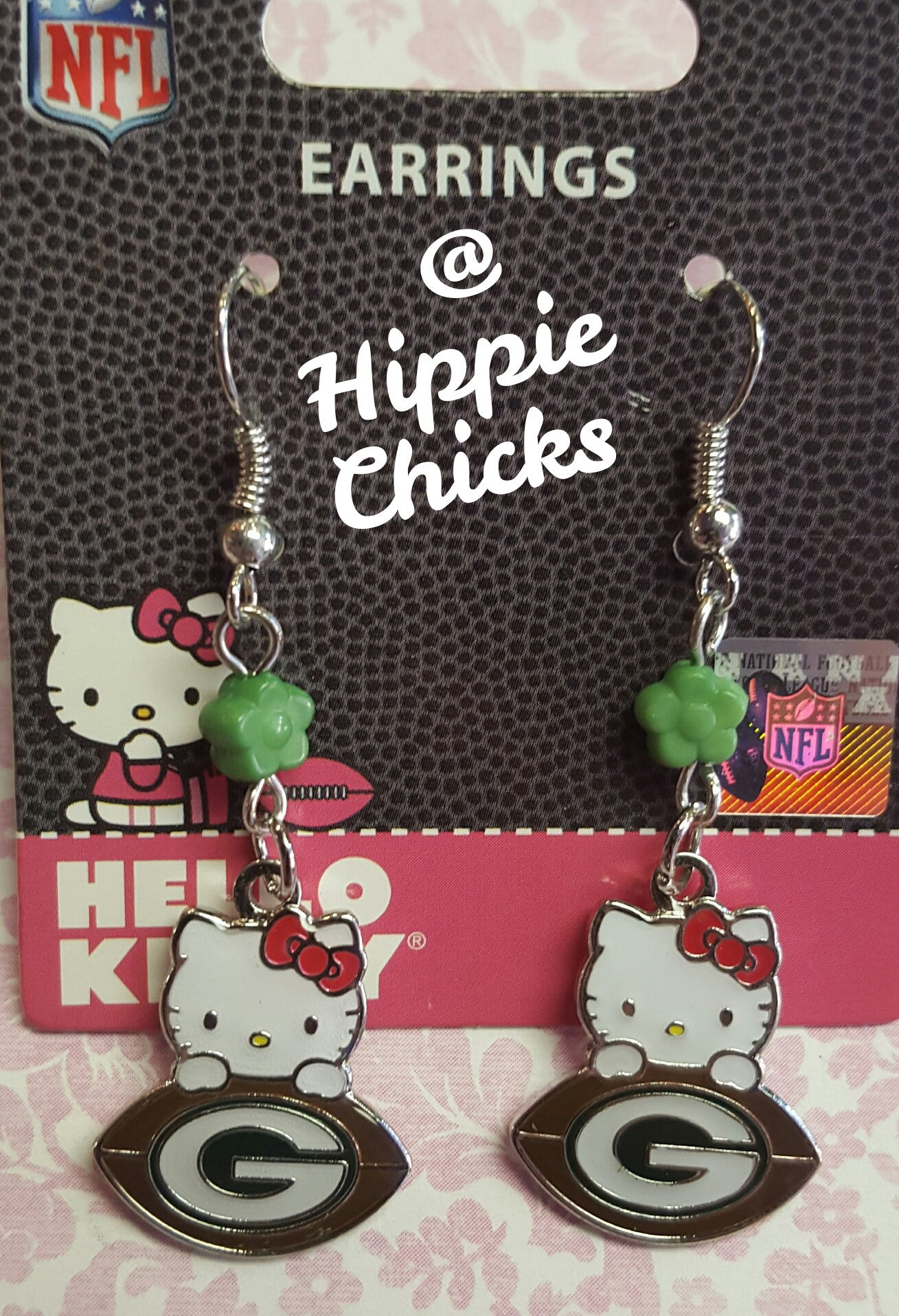 Hello Kitty Packers Earrings