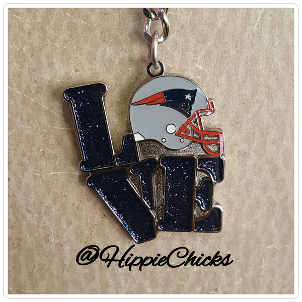 New England Patriots NFL Key Chain