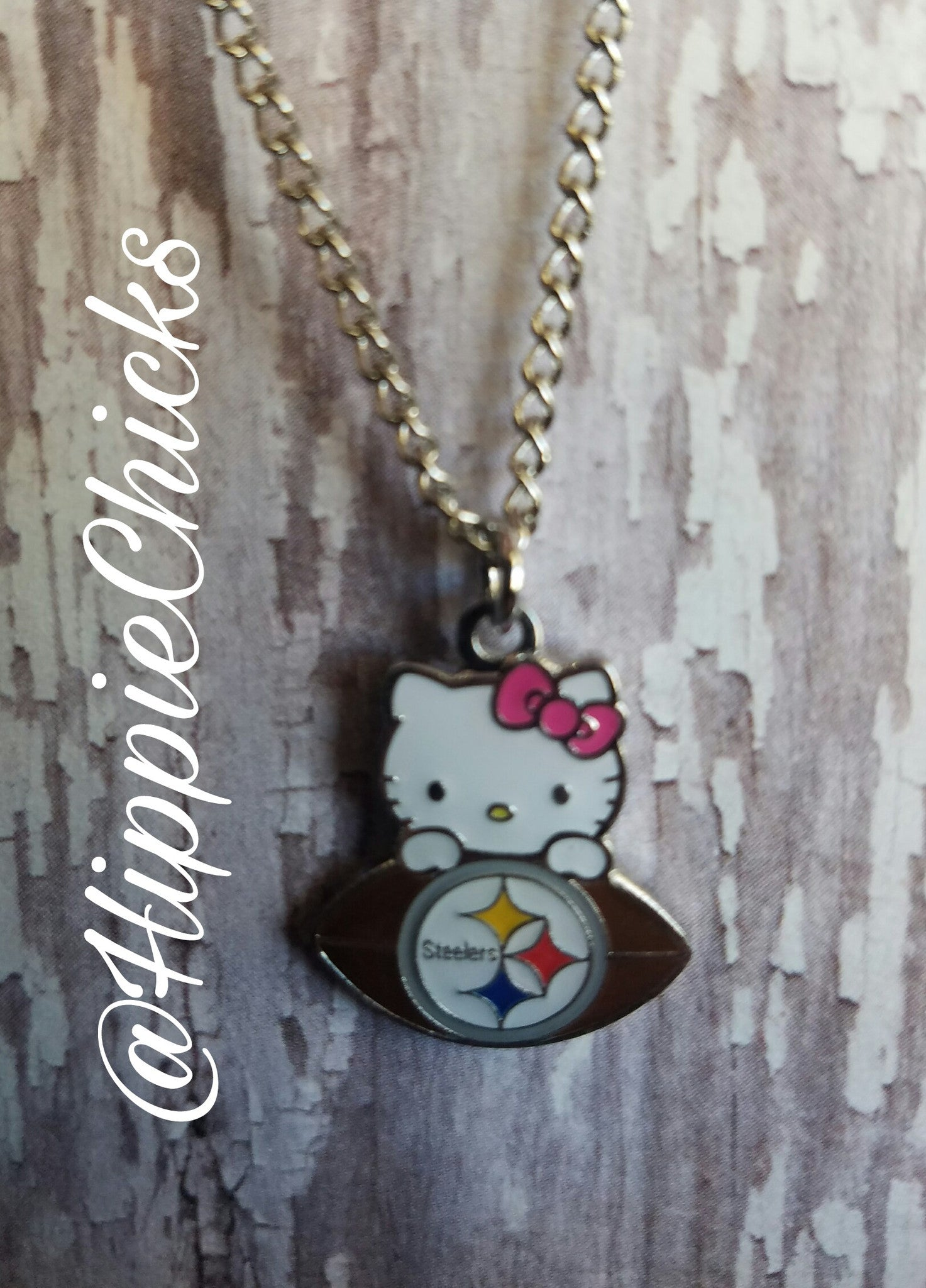 Hello Kitty Pittsburgh Steeler NFL Jewelry