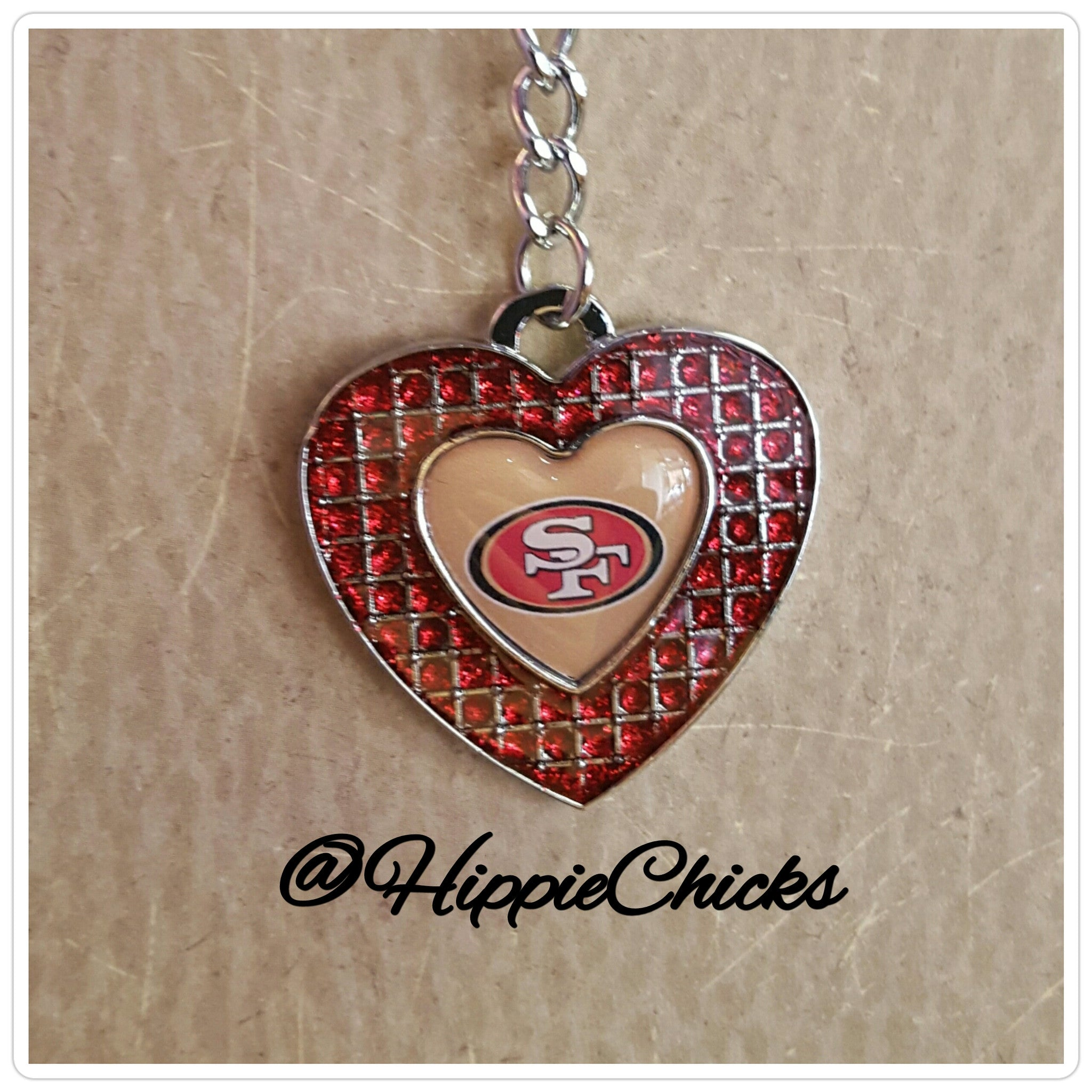 San Francisco NFL Key Chain