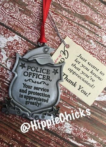 Police Officer Ornaments