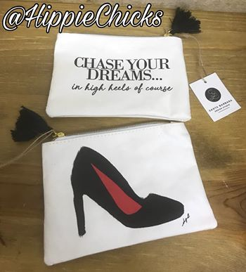 Washable paper coin purse- high heels