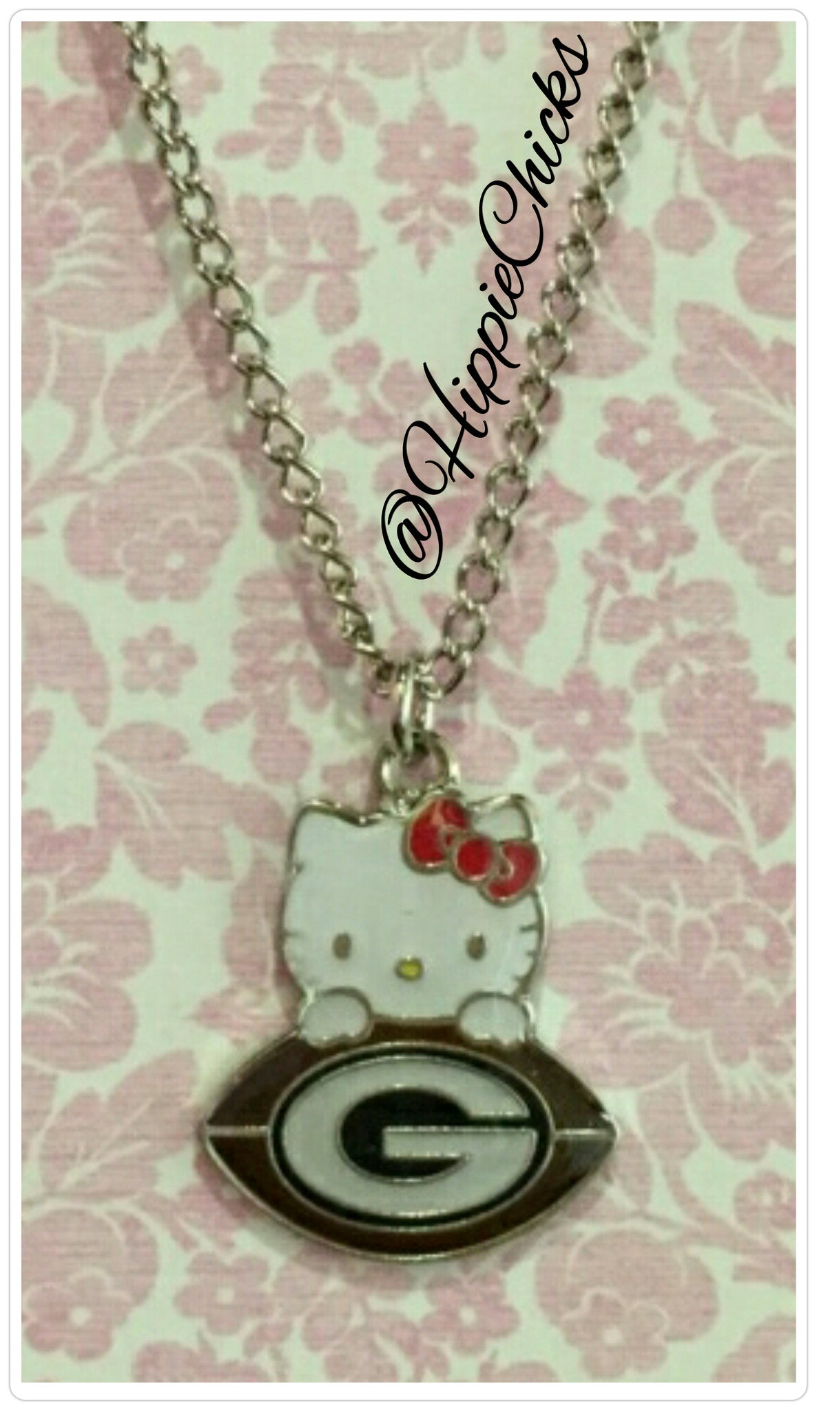 Hello Kitty GreenBay Necklace