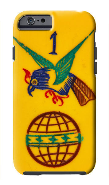 Hawk and Globe iPhone Case