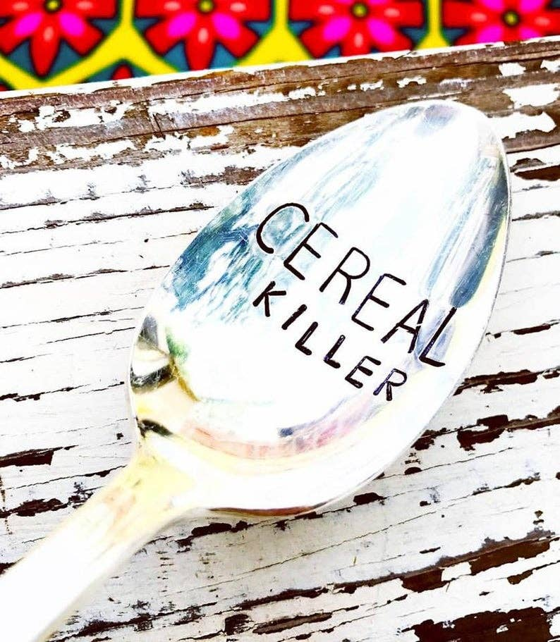 Sweet Thyme Design - Cereal Killer Spoon
