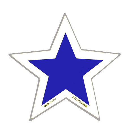 Windshield Adhesive Stars