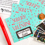 Scratch Off Valentines Card Set