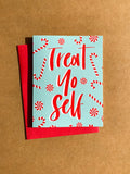 Treat Yo Self - Card Set With Gift Card Slits