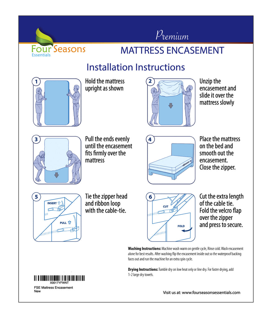 Mattress Protector - Bed bug protection and Waterproof