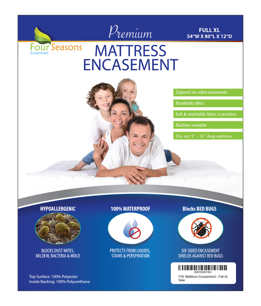 Mattress Protector - Zippered Encasement