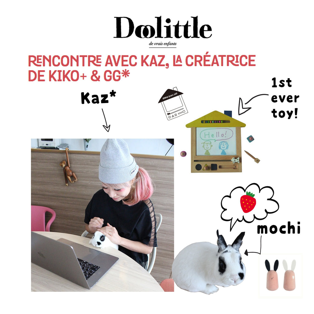 Doolittle Interview with Kaz*, creative director & girl boss of kiko+ & gg*
