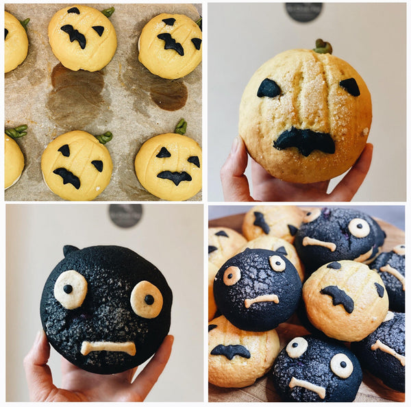 Melon Pan Halloween