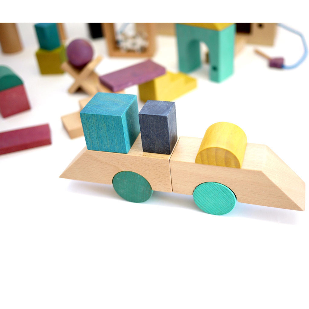 Tsumiki - Building Blocks Wooden House