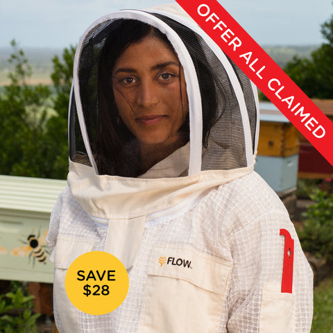 Flow Bee Jacket - Ventilated Mesh
