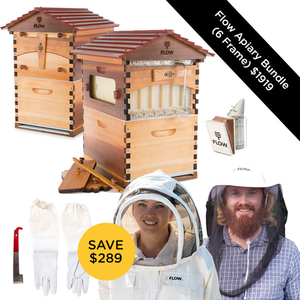 Apiary Bundle - Western Red Cedar 6 Frame