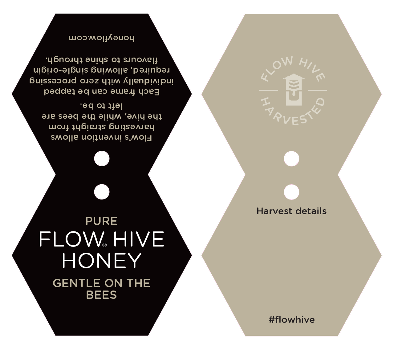 honey jar labels flow hive