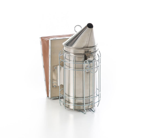 Beekeeping Smoker - Stainless Steel with Ventilated Insert - Starter Bundle 7 Frame