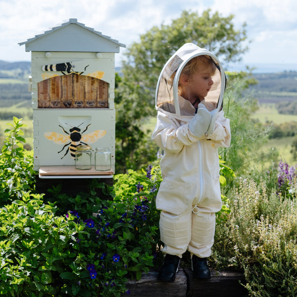 Toddler Bee Suit - Organic Cotton