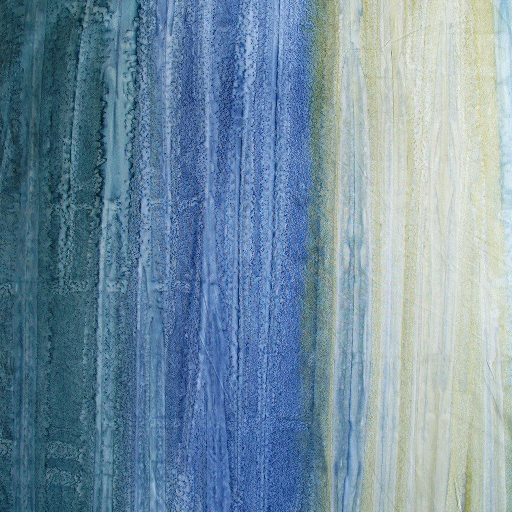 Designer Batik - Flavour Gradations Green Blue Teal Soda - [product_typpe] - Earth Indigo